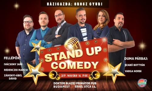 Stand Up Comedy Humortársulat LIVE - 2019-ben is neked lökik a sódert - Budapest | OroszGyuri.hu