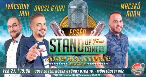 Stand Up Comedy TURNÉ - Ecséd | OroszGyuri.hu