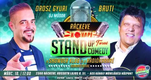 Nőnapi Stand Up Comedy TURNÉ - Ráckeve | OroszGyuri.hu