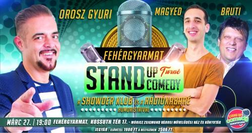 Stand Up Comedy TURNÉ - Fehérgyarmat | OroszGyuri.hu