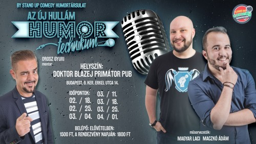 Humortechnikum 2019 by STAND UP COMEDY HUMORTÁRSULAT | OroszGyuri.hu