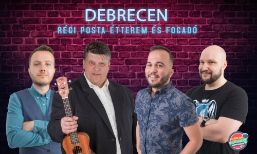 Ifjú, Showder Klubos humoristák stand up comedy estje Debrecenben | OroszGyuri.hu