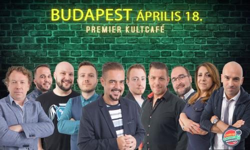 Stand Up Comedy LIVE - BUDAPEST | OroszGyuri.hu