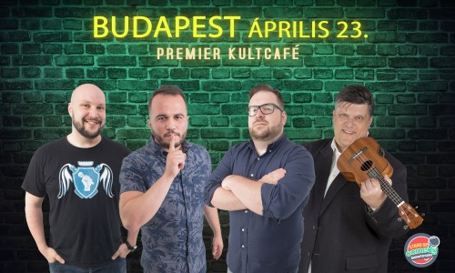 Stand Up Comedy IMPRO - BUDAPEST | OroszGyuri.hu