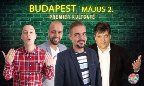 Stand Up Comedy Humortársulat - Neked lökik a sódert - Budapest | OroszGyuri.hu