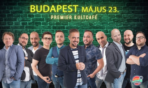 Stand Up Comedy DUMAPÁRBAJ - BUDAPEST | OroszGyuri.hu