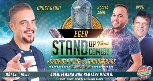 Stand Up Comedy TURNÉ - Eger | OroszGyuri.hu